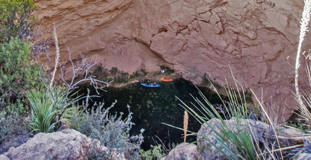 Pozo del gavilan y laguna de labradores